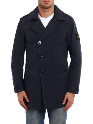 Stone Island: trench coats online - David-TC slightly padded trench