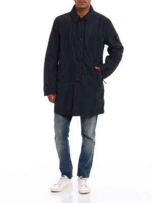 Stone Island: trench coats online - Micro Reps slightly padded trench