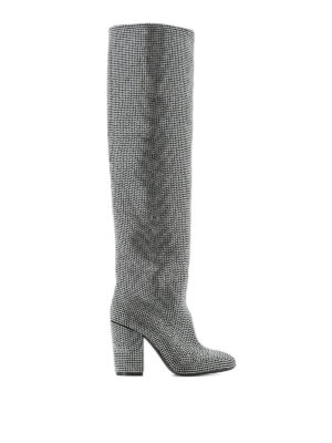 Strategia: boots - Alice crystal embellished boots