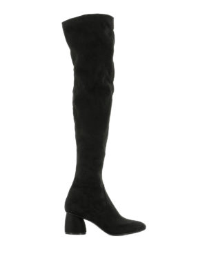 Strategia: boots - Black suede boots