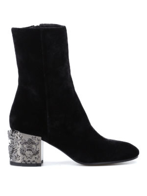 Strategia: boots - Cholet velvet boots