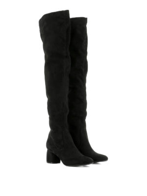 Strategia: boots online - Black suede boots