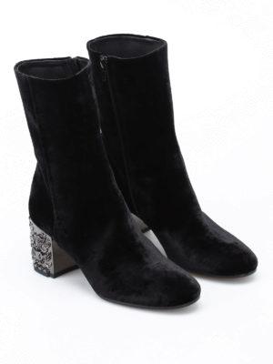 Strategia: boots online - Cholet velvet boots