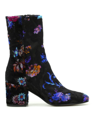 Strategia: boots - Romantic devoré velvet boots