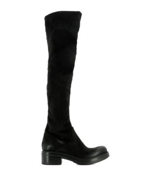 Strategia: boots - Stretch faux leather boots
