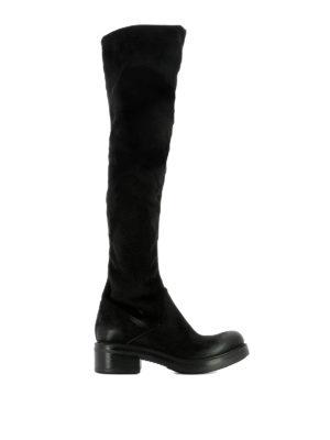 STRATEGIA: stivali - Stivali in eco-daino stretch