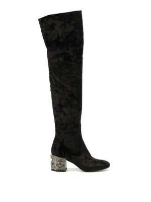 Strategia: boots - Thor sculpture heel stretch boots