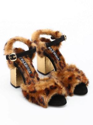 Strategia: sandals online - Hanna leopard eclectic sandals