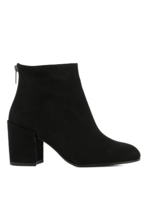 Stuart Weitzman: ankle boots - Bacari suede booties