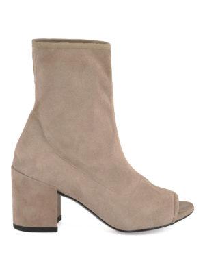 Stuart Weitzman: ankle boots - Bigkoko suede booties