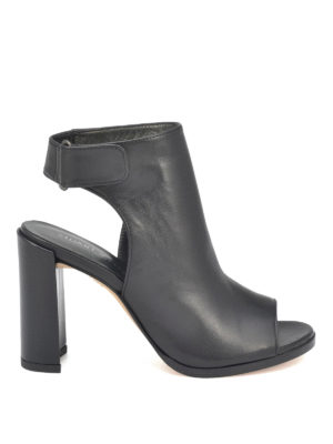 Stuart Weitzman: ankle boots - Front Room leather booties