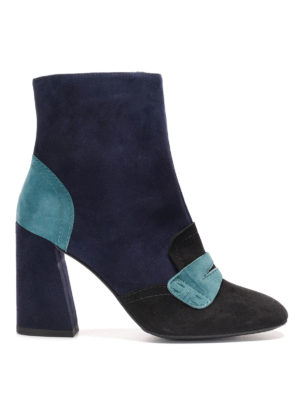 Stuart Weitzman: ankle boots - Moxanne block heel booties