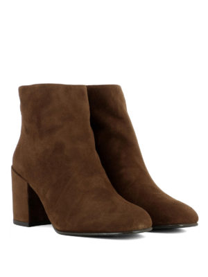 Stuart Weitzman: ankle boots online - Bacari light brown suede booties