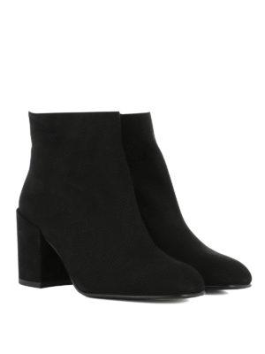 Stuart Weitzman: ankle boots online - Bacari suede booties