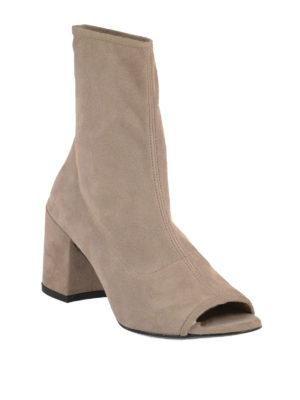 Stuart Weitzman: ankle boots online - Bigkoko suede booties
