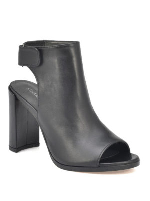 Stuart Weitzman: ankle boots online - Front Room leather booties