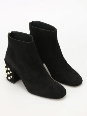 Stuart Weitzman: ankle boots online - Pearlbacari suede ankle boots