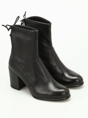 Stuart Weitzman: ankle boots online - Shorty leather ankle boots