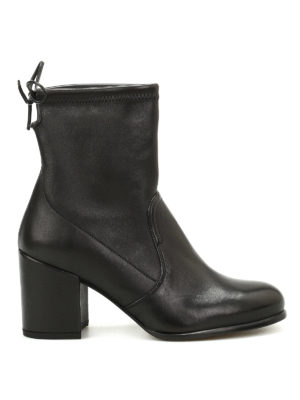 Stuart Weitzman: ankle boots - Shorty leather ankle boots