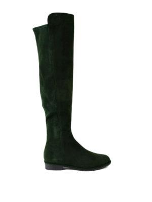 Stuart Weitzman: boots - Allgood forest suede boots