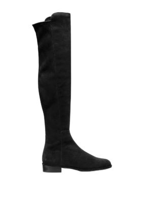 Stuart Weitzman: boots - Allgood over-the-knee suede boots