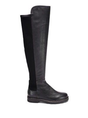 Stuart Weitzman: boots - Halfnote suede and nylon boots