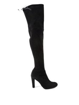 Stuart Weitzman: boots - Highland suede boots