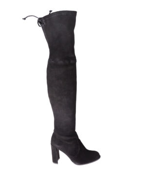 Stuart Weitzman: boots - Hiline over-the-knee heeled boots