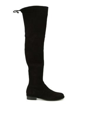 Stuart Weitzman: boots - Lowland suede boots