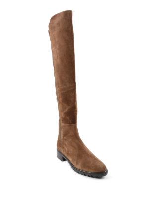 Stuart Weitzman: boots online - 5050 suede boots