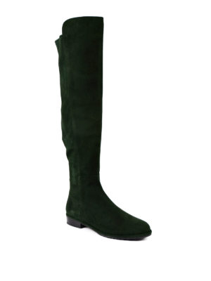 Stuart Weitzman: boots online - Allgood forest suede boots