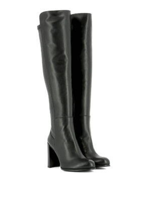 Stuart Weitzman: boots online - Alljill stretch leather boots