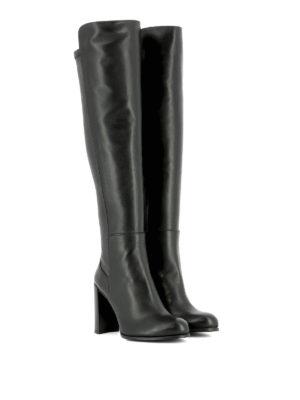 Stuart Weitzman: boots online - Alljill stretch leather boots