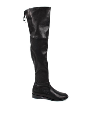 Stuart Weitzman: boots online - Cuissard leather boots with string