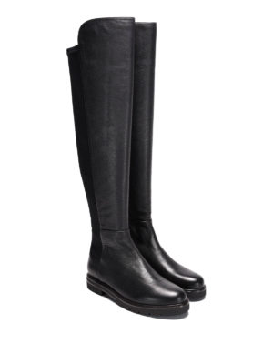 Stuart Weitzman: boots online - Halfnote suede and nylon boots
