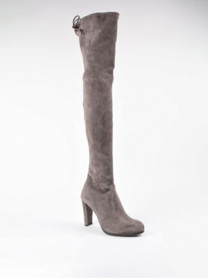 Stuart Weitzman: boots online - Highland over-the-knee suede boots