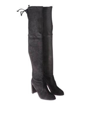 Stuart Weitzman: boots online - Hiline over-the-knee heeled boots