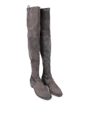 Stuart Weitzman: boots online - Lowland over-the-knee suede boots