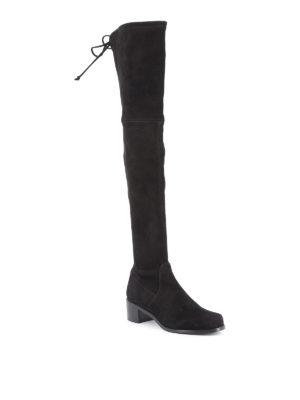 Stuart Weitzman: boots online - Midland over-the-knee suede boots