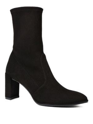 Stuart Weitzman: boots online - Prancer suede mid boots