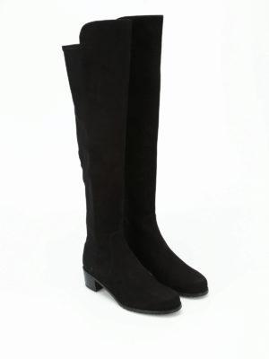 Stuart Weitzman: boots online - Reserve suede boots