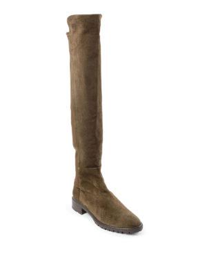 Stuart Weitzman: boots online - Schizo suede boots