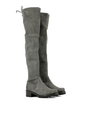 Stuart Weitzman: boots online - Vanland over-the-knee suede boots