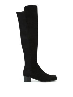 Stuart Weitzman: boots - Reserve suede boots