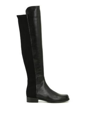 Stuart Weitzman: boots - The 5050 nappa boot