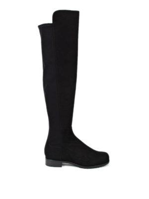 Stuart Weitzman: boots - The 5050 suede boot
