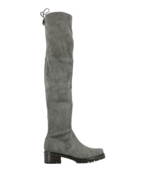 Stuart Weitzman: boots - Vanland over-the-knee suede boots