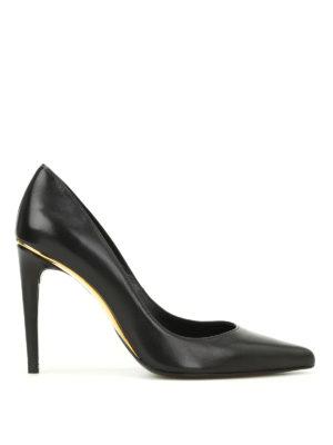 Stuart Weitzman: court shoes - Curvia leather pumps