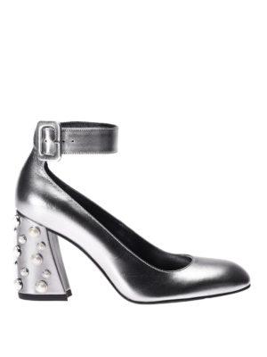 Stuart Weitzman: court shoes - Pearlclarisa ankle strap pumps