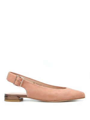 Stuart Weitzman: flat shoes - Heidi slingback flat shoes